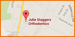 Map of Julie Staggers Orthodontics
